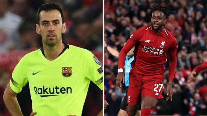 Sergio Busquets Hasn't Tweeted Since His Liverpool Post Backfired