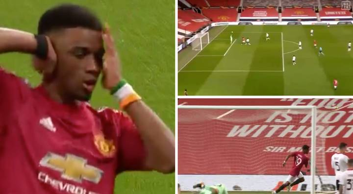 Amad Diallo Scores First Manchester United Goal With Amazing Backwards Header