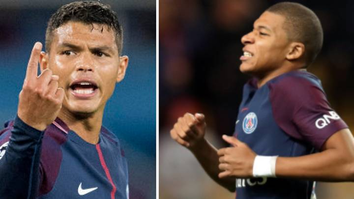 What Thiago Silva Said To Kylian Mbappe After Missing Plenty Of Chances