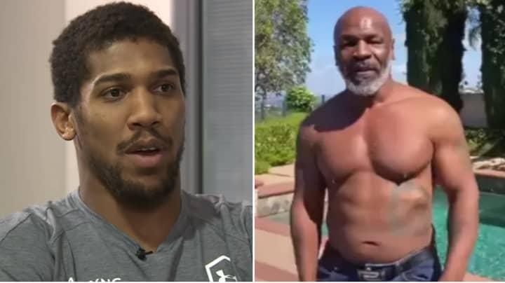 Why Unified Heavyweight Champion Anthony Joshua Won't Fight Returning Boxing Legend Mike Tyson
