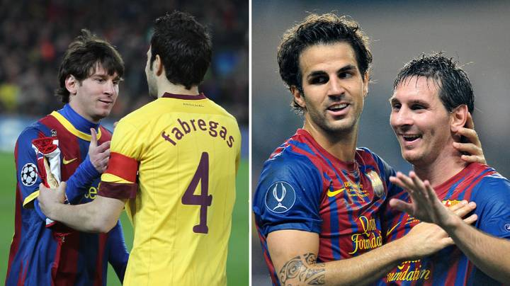 Cesc Fabregas Tells Amazing Story Of The First Day He Met Lionel Messi
