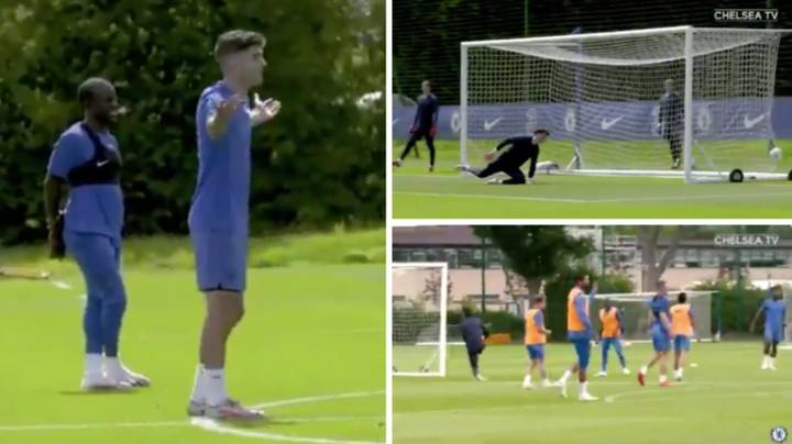Fans Are Slating Kepa Arrizabalaga's Performance In Training Ahead Of The FA Cup Final