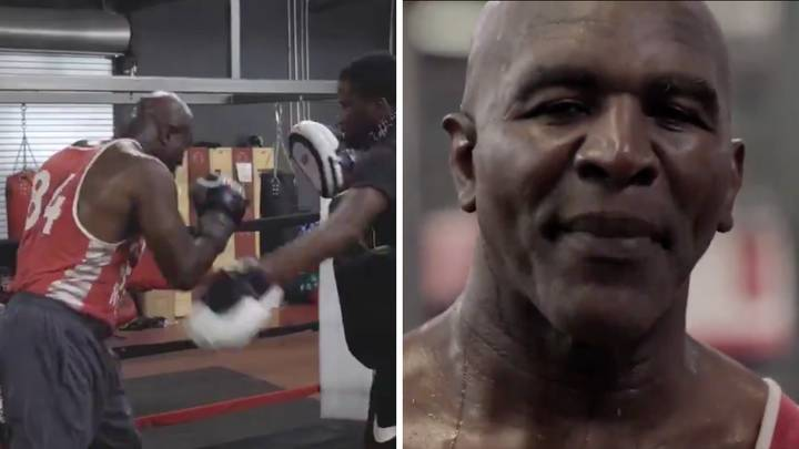 Evander Holyfield Responds To Mike Tyson's 'I'm Back' Video, Wants A Trilogy Fight