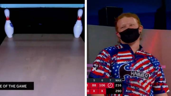 Teenage Ten-Pin Bowler Nicknamed 'The Ginger Assassin' Goes Viral For Near-Impossible Shot