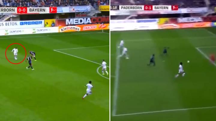 Philippe Coutinho Produces 'Perfect Chip' Assist For Serge Gnabry