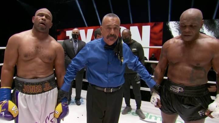 Mike Tyson Vs. Roy Jones Jr Exhibition Ends In Draw