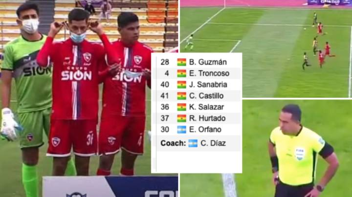 Bolivian Side Fields Seven Players, Game Gets Abandoned In The 8th Minute