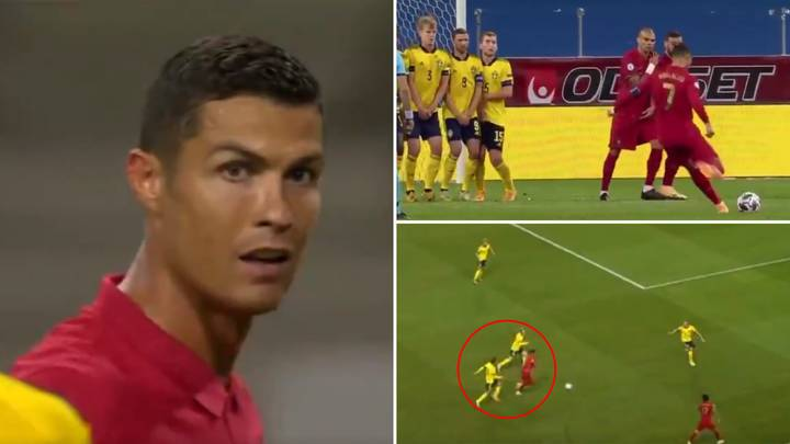 Cristiano Ronaldo's Superb Individual Highlights Vs Sweden Prove He Is Unstoppable Right Now