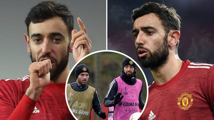 Bruno Fernandes Names The Four Manchester United Players Who Remain Behind For Extra Training