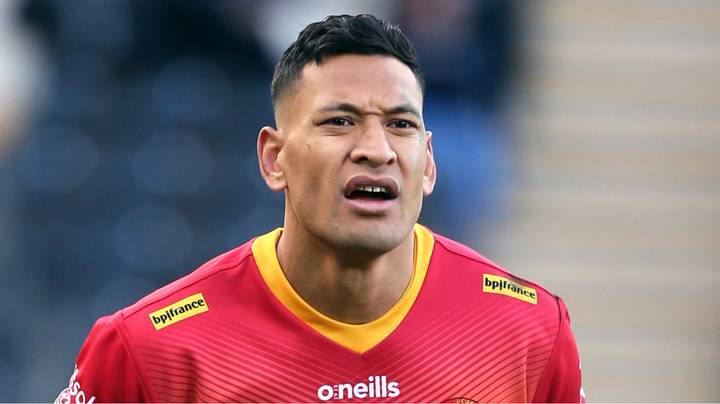 Israel Folau Was The Only Super League Player Not To Take A Knee For BLM