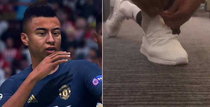 Jesse Lingard Makes Special Request To EA Sports For FIFA 19