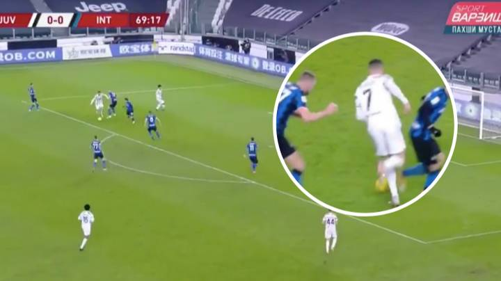 Cristiano Ronaldo Proved He Can Still Dribble Past Defenders Easily Aged 36