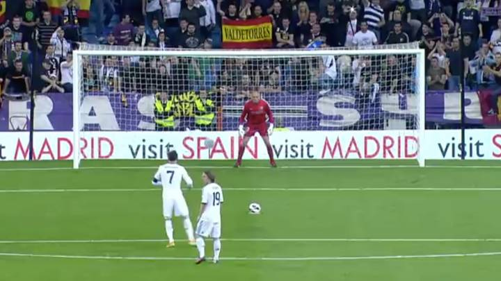 Cristiano Ronaldo Once Hit A Penalty So Hard That He Injured Willy Caballero