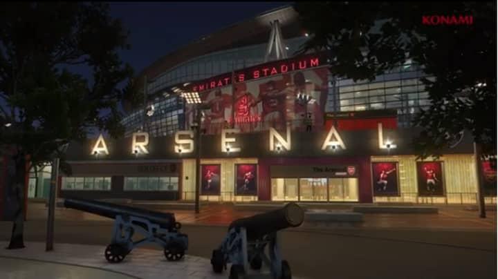 Watch: The Emirates Stadium Looks Incredible In Pro Evo 2018