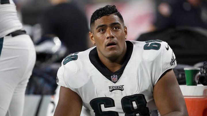 Jordan Mailata's Bulldozing Tackle Sends NFL Fans Into A Frenzy
