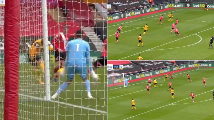 Pedro Neto Somehow Scores From An Incredibly Tight Angle In Moment Of Brilliance