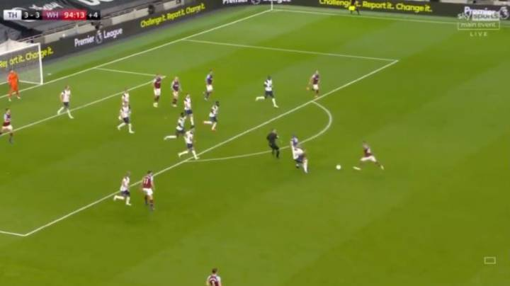Manuel Lanzini Scores Outrageous 94th Minute Goal To Complete Stunning Comeback From 3-0 Down
