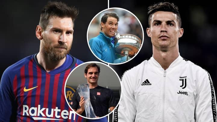 Lionel Messi And Cristiano Ronaldo Are 'Like Roger Federer And Rafael Nadal,' Says Chiellini