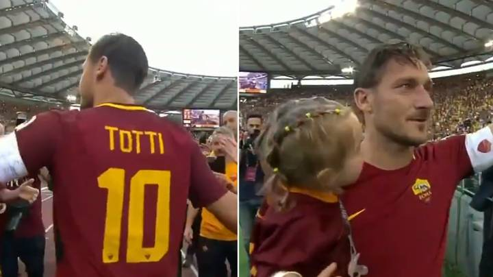 Remembering Francesco Totti's Tearful Goodbye To AS Roma Fans