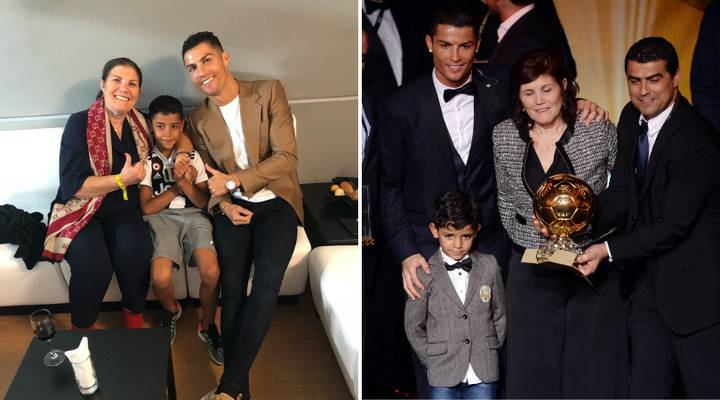 Cristiano Ronaldo Jr Is Better Aged 11 According To The Player's Mum