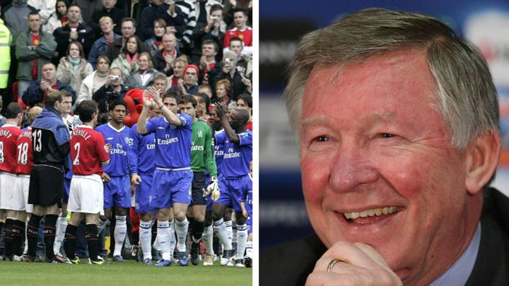 Sir Alex Ferguson 'Enjoyed' His Manchester United Side Giving Jose Mourinho's Chelsea A Guard Of Honour