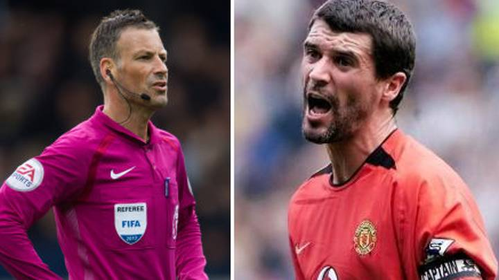Mark Clattenburg Reveals His First Interaction With Roy Keane, Naturally He Sh*t Himself