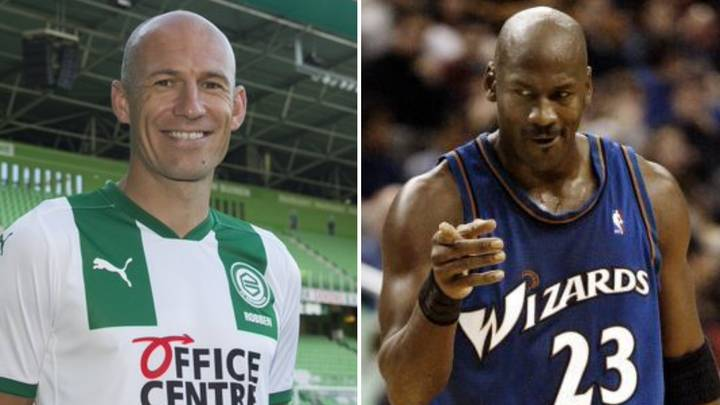 Arjen Robben Convinced To Make Football Return Through Groningen's Clever Use Of Michael Jordan