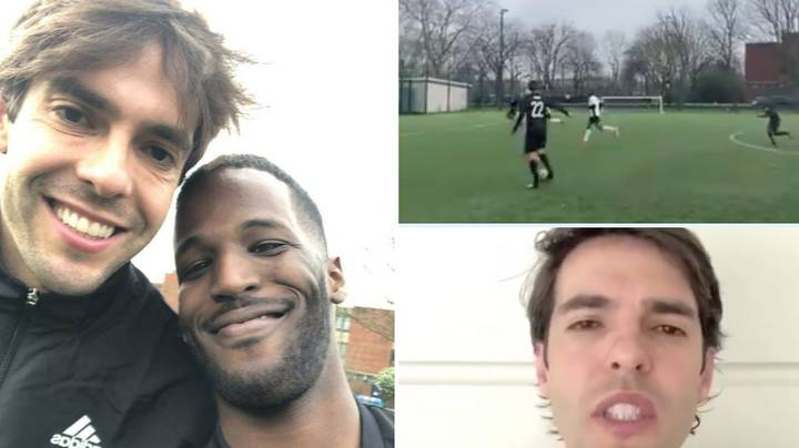 Kaka Has Promised To Cut The Ball Back To Hackney Footballer Who Went Viral