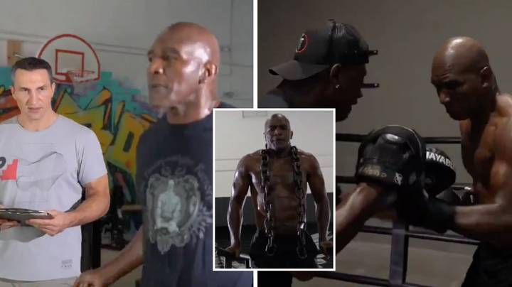 Evander Holyfield Responds To Mike Tyson Again With Even Better Training Video