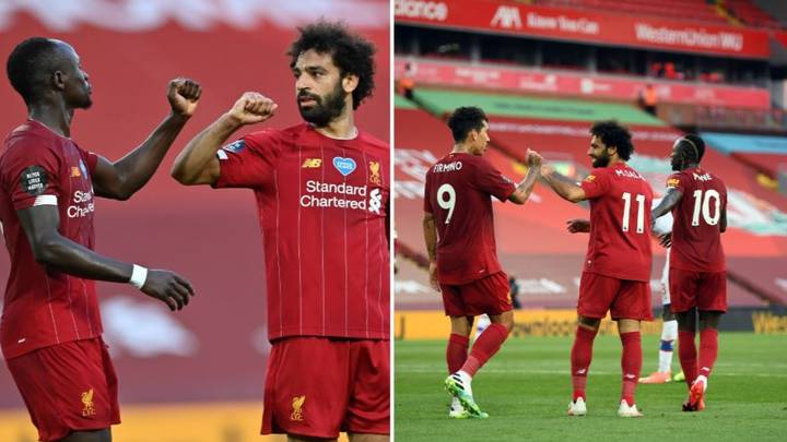 Liverpool's Front Three Aren't As Prolific As Some Of Their Rivals