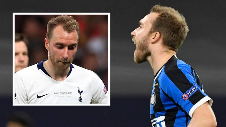 Christian Eriksen Made History In The Europa League Final For All The Wrong Reasons