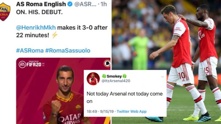 Roma Troll Arsenal Fan After He Tells Them To Keep Henrikh Mkhitaryan