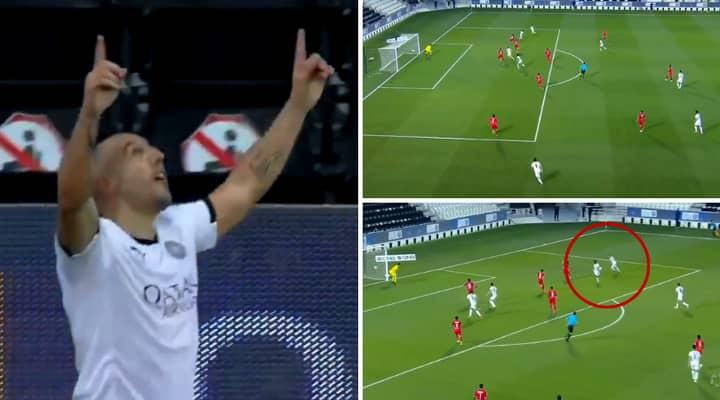 Santi Cazorla Scores Amazing Last-Gasp Derby Winner As Arsenal Fans Watch Behind Their Tears
