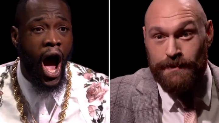 Tyson Fury And Deontay Wilder's Round Table Interview Is Going To Be Fun