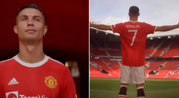 First Footage Of Ronaldo Returning To Old Trafford Hits Twitter