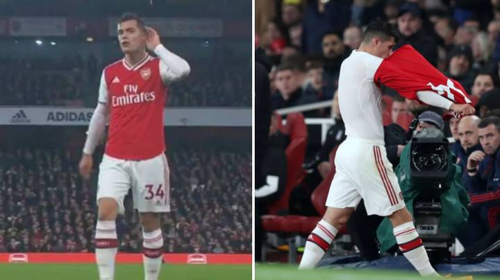 Darren Bent Claims That 'Xhaka Is Done At Arsenal' After 'Disrespecting The Shirt'