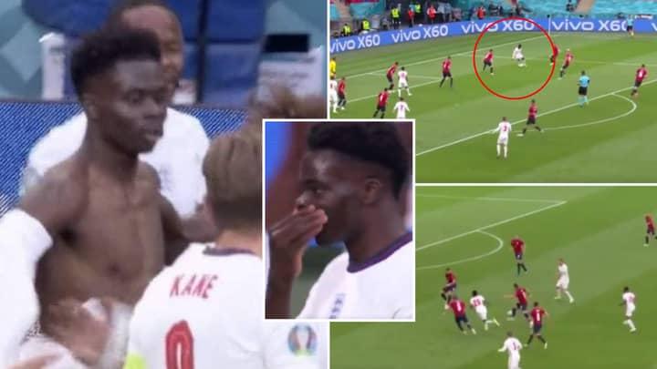 Bukayo Saka's Ridiculous Highlights vs Czech Republic Prove He Should Be A Regular England Starter
