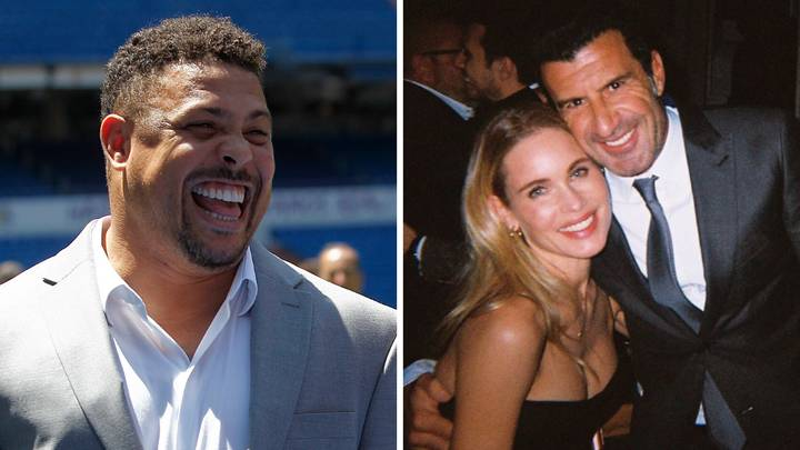Luis Figo Forgives 'R9' Ronaldo For Having Crush On His Wife