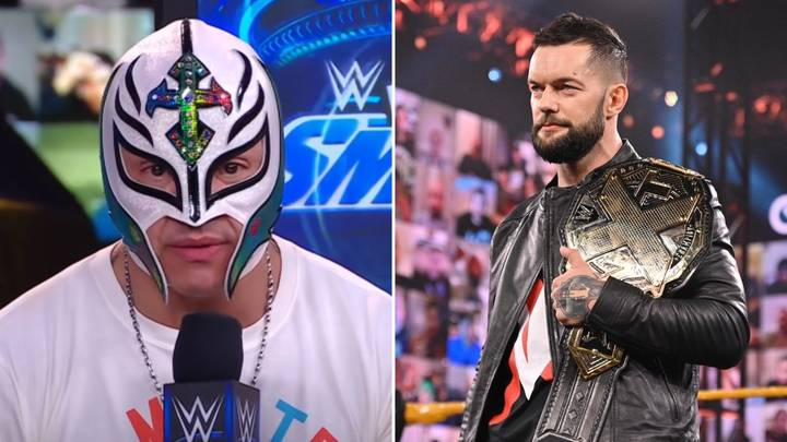 """Rey Mysterio """"Would Love"""" To Face Finn Balor In WWE Dream Match"""