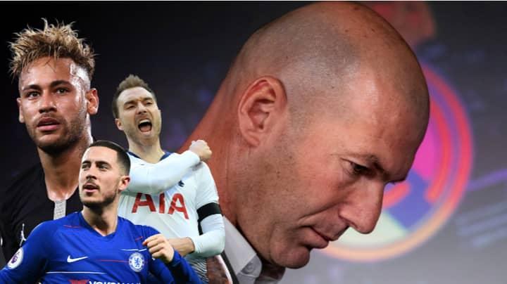 Real Madrid Have Promised Zinedine Zidane £300Million Transfer Kitty