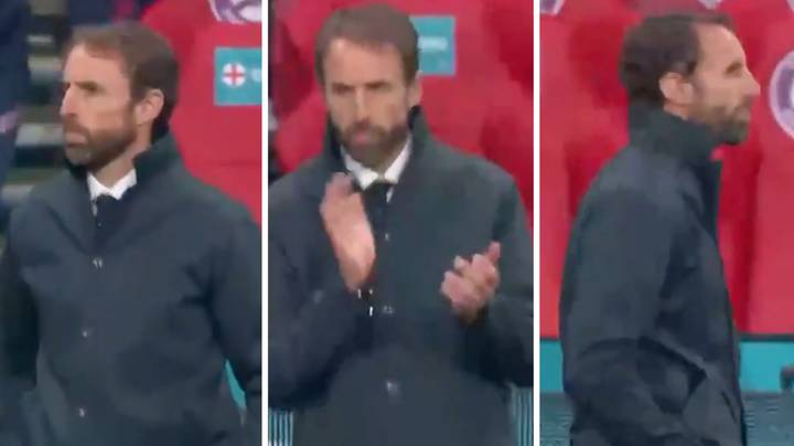 Gareth Southgate Was The Most Relaxed Man Inside Wembley When England Went 1-0 Up