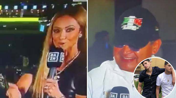 Bizarre Moment DAZN Presenter Kate Abdo Told Ryan Garcia's Father, 'That's Some Good Sperm You Got There, Sir!'