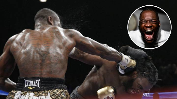 When Deontay Wilder Punched Bermane Stiverne So Hard It Bent The Metal Rod In His Hand