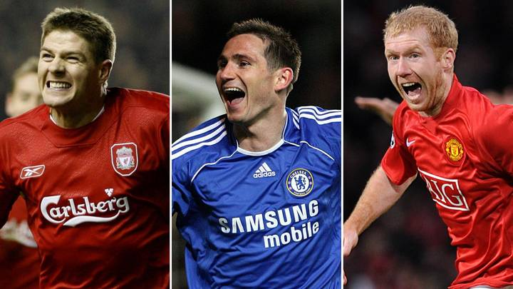The Paul Scholes, Steven Gerrard And Frank Lampard Debate Settled In Controversial Twitter Thread