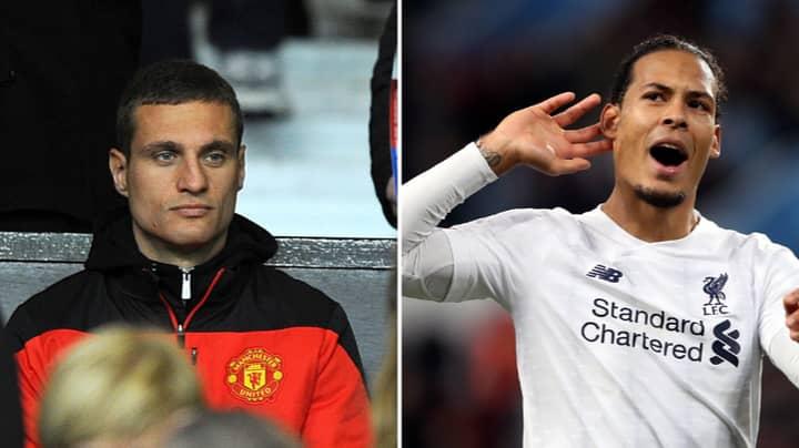 Liverpool Fan 'Proves' Virgil Van Dijk Is Better Than Nemanja Vidic