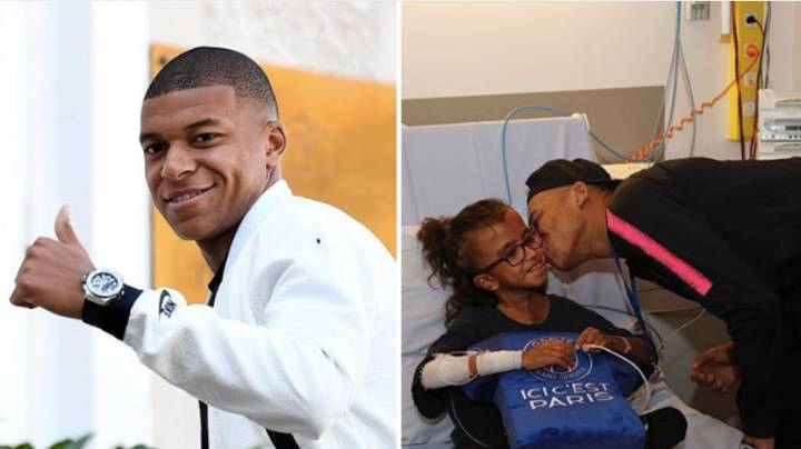 Kylian Mbappe Is A Great Player On The Pitch And A Great Person Off It