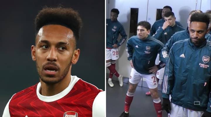 Arsenal Fans Are Criticising Pierre-Emerick Aubameyang's Body Language