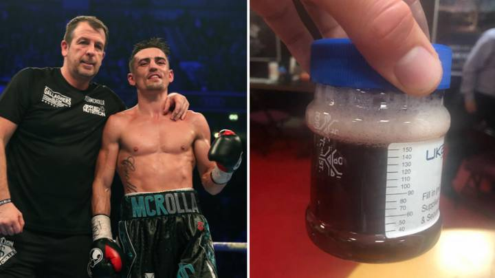 Anthony Crolla's Urine Sample Proves The Harsh Reality Of Boxer's Lives