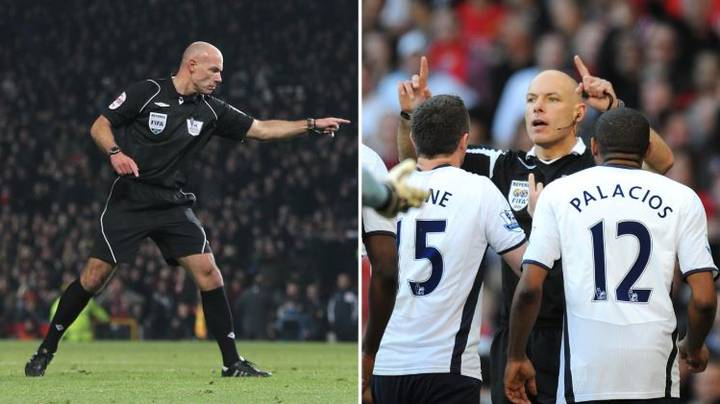 Howard Webb Reveals The Manchester United Penalty He Awarded He Knew Was Wrong