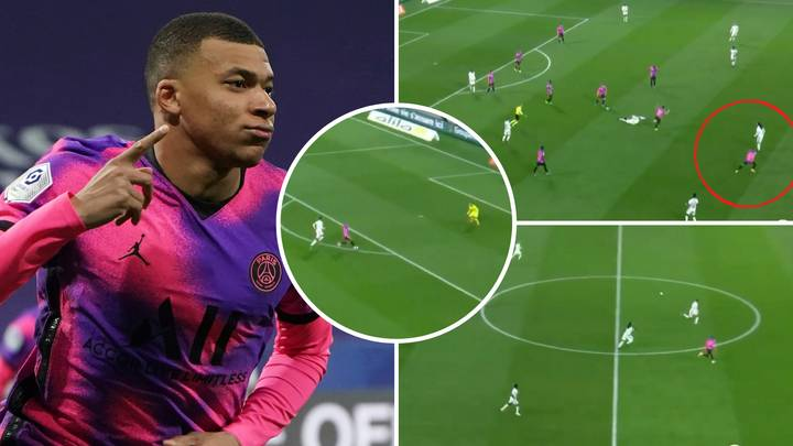 Kylian Mbappe 'Turns Into Usain Bolt' As He Shows Off Blistering Pace In Stunning Counterattack Goal